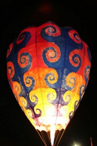 Balloon Glow at Ogden Valley Balloon Fest