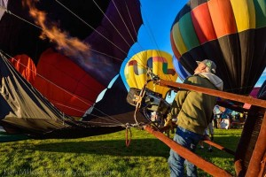 Balloon Fest Tethered Rides