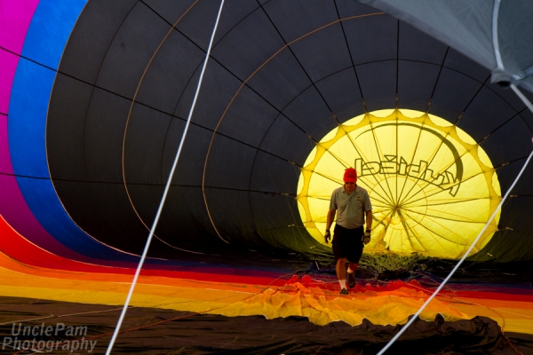 Ogden Valley Balloon Fest Launch