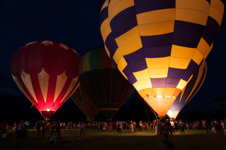 Evening Balloon Glow